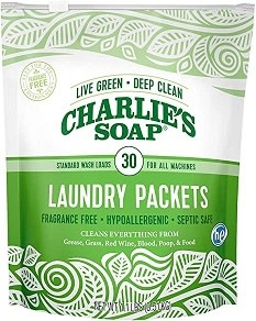 Charlie's Soap Charlie's Soap - Laundry Powder Packets
