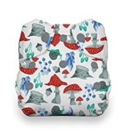 Thirsties Natural Newborn AIO Snap Forest Frolic