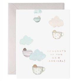 Teacup Babies Greeting Card