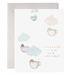 Teacup Babies Greeting Card