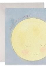Baby Moon Greeting Card