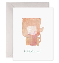Let the Little One Greeting Card
