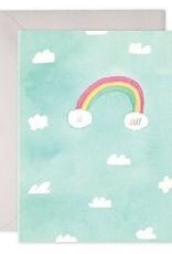 Hi Baby Sky Greeting Card
