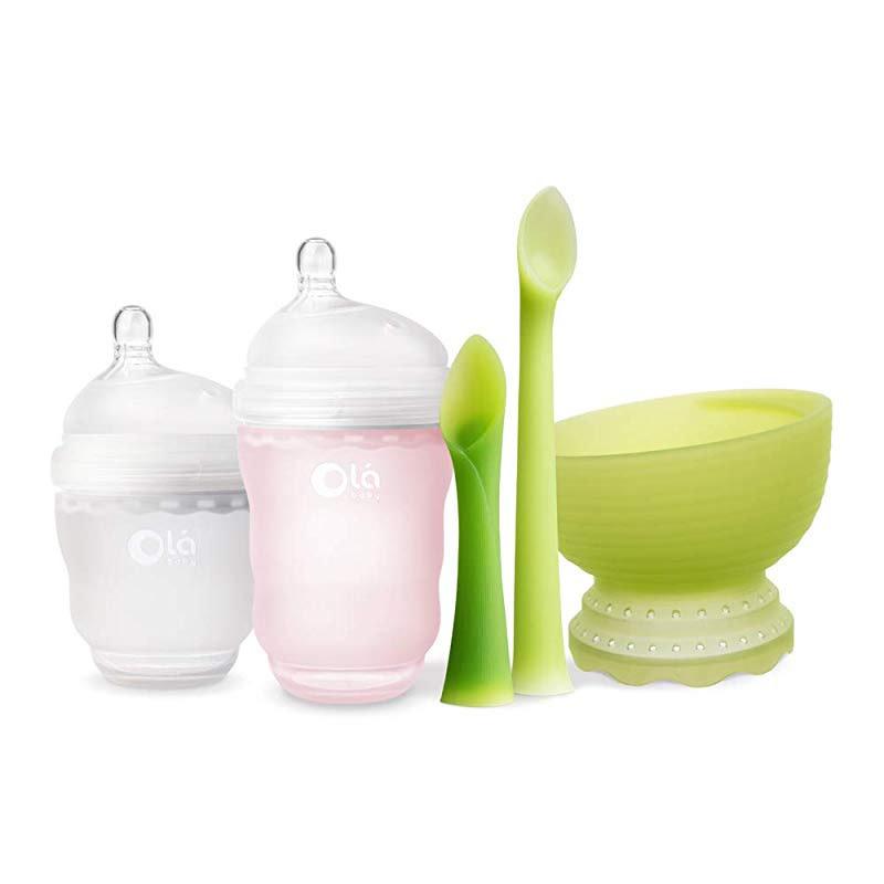 Olababy Olababy Baby Feeding Starter Set Pink