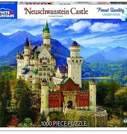 White Mountain Puzzles Neuschwanstein Castle 1000 Piece Puzzle