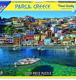 White Mountain Puzzles Parga, Greece 1000 Piece Puzzle