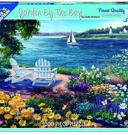 White Mountain Puzzles Garden By The Bay 1000 Piece Puzzle