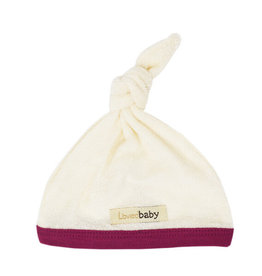 Loved Baby Terry Cloth Top-Knot Hat