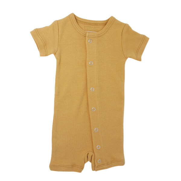 Loved Baby Tennis Collection Short Sleeve Romper