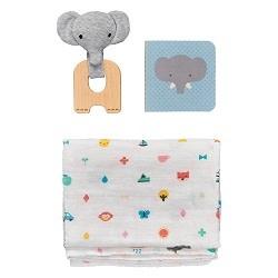 Wild + Wolf Little Elephant Baby Gift Set
