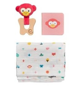 Wild + Wolf Little Monkey Baby Gift Set