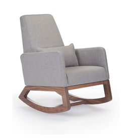 Monte Designs Monte Joya Rocker with Walnut Base - Pebble Grey