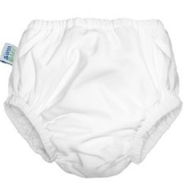 Planetwise Swim Diaper White