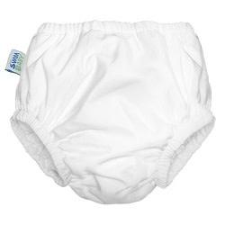 Planetwise Swim Diaper White