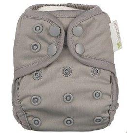 OsoCozy Newborn Diaper Cover Pewter