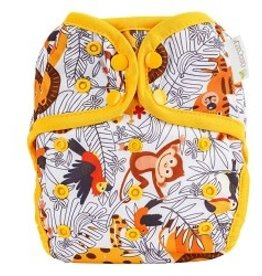 OsoCozy One Size Diaper Cover Zoo Day