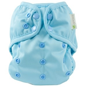 OsoCozy One Size Diaper Cover Baby Blue