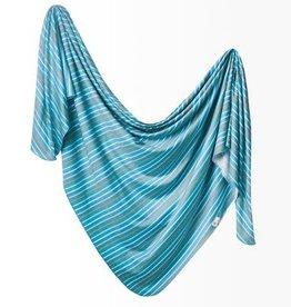 Copper Pearl Copper Pearl - Knit Swaddle Blanket - Milo