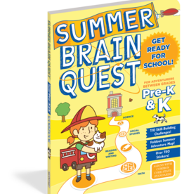Summer Brain Quest Workbooks by Grade Pre-K to K