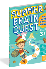 Summer Brain Quest Workbooks by Grade 3rd to 4th