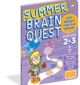 Summer Brain Quest Workbooks by Grade 2nd to 3rd