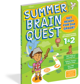 Summer Brain Quest Workbooks by Grade 1st to 2nd