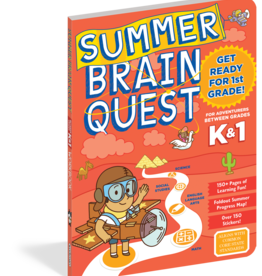 Summer Brain Quest Workbooks by Grade K to 1st