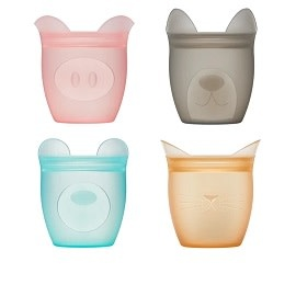ZipTop Baby Snack Container 4 pc Set