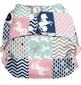 Imagine Imagine StayDry One Size Pocket Diaper  Unicorn Dreams
