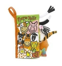 Jellycat Jellycat - Farm Tails Soft Activity Book