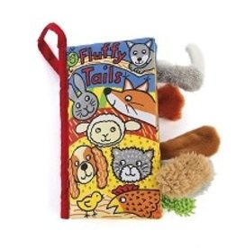 Jellycat Fluffy Tails Soft Activity Book