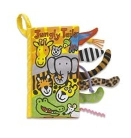 Jellycat Jellycat - Jungly Tails Soft Activity Book