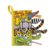 Jellycat Jungly Tails Soft Activity Book