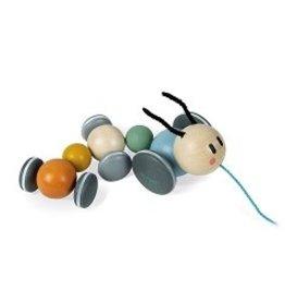 Janod Caterpillar Pull Toy