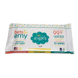 Bets & Emy Wipes 10 ct