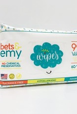 Bets & Emy - Wipes - 60 count