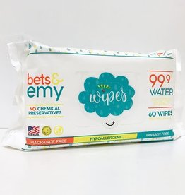 Bets & Emy Wipes 60 ct