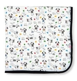 Magnetic Me FW2020 Modal Swaddle Blanket Raise the Woof