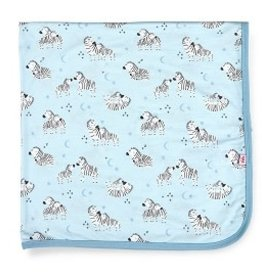 Magnetic Me FW2020 Modal Swaddle Blanket Blue Little One