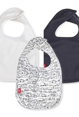 Magnetic Me Magnetic Me - Organic Cotton Bibs 3 Pack - Going Places