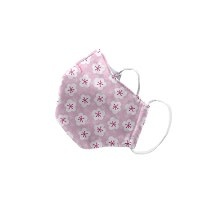 """Green Sprouts Child Reusable Face Mask, Pink Blossom, 11""""-12"""""""