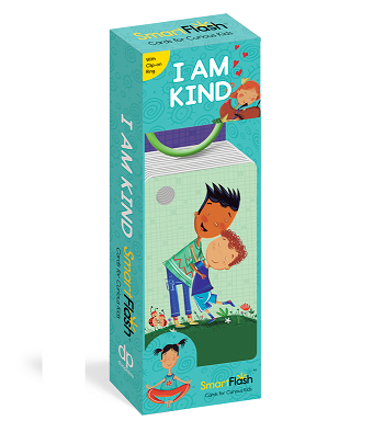 I Am Kind SmartFlash Flash Card Ring