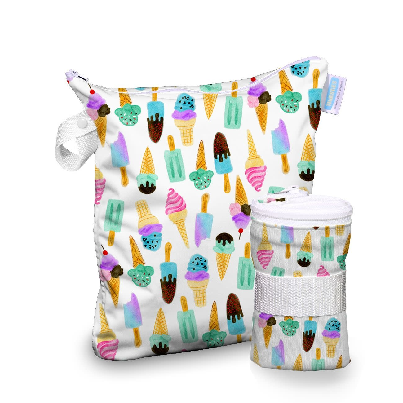 Thirsties Thirsties Wet Bag We All Scream