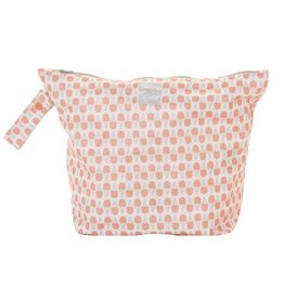 GroVia GroVia Zippered Wet Bag - Grapefruit Ice Cream
