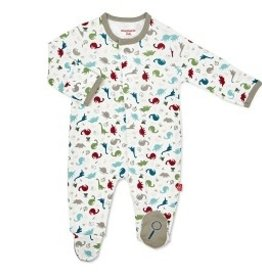 Magnetic Me Magnetic Me Organic Cotton Footie - Dino Expedition