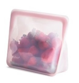 Stasher Bag Stasher Stand-Up Rose Quartz