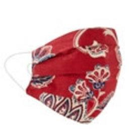 Peking Handicrafts Adult Face Mask Printed Red