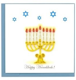 Holiday Card Menorah