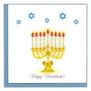 Holiday Card Menorah