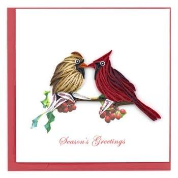 Holiday Card Cardinals